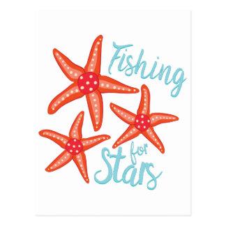 Fishing For Stars Postcard