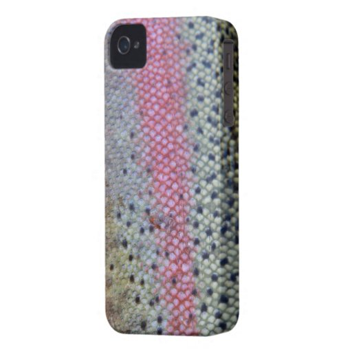 Fishing Fury iPhone 4/4S Case (Rainbow Trout) iPhone 4 Case-Mate Cases