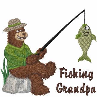 Fishing Grandpa Bear