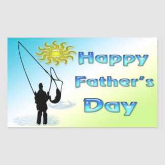 Fishing - Happy Father s Day Sticker