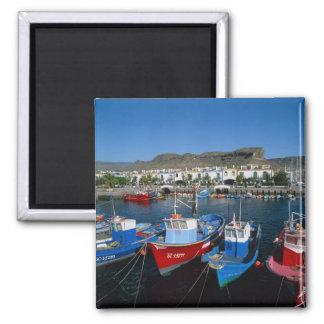 Fishing Harbor, Puerto de Mogan, Gran Canaria, Magnet