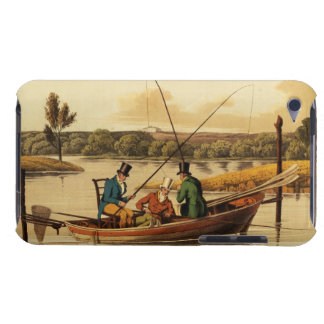 Fishing in a Punt, aquatinted by I. Clark, pub. by iPod Case-Mate Cases