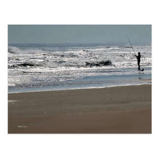 Fishing in Sparkling Water Postcard