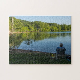 Fishing In The Morning Jigsaw Puzzle