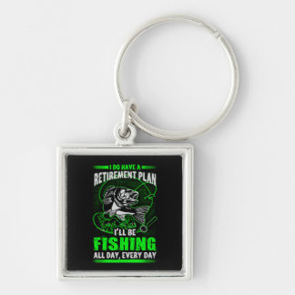 Fishing Keychain