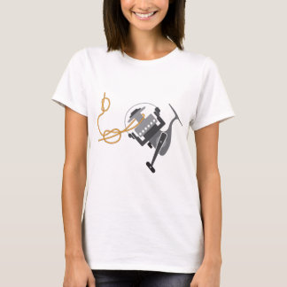 Fishing knot to connect line to the spool vector T-Shirt