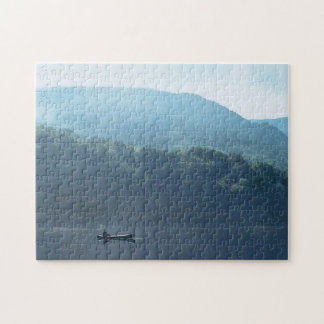Fishing Lake White Mountains New Hampshire Puzzle