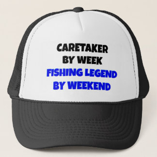 Fishing Legend Caretaker Trucker Hat