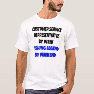 Fishing Legend Customer Service Representative T-Shirt