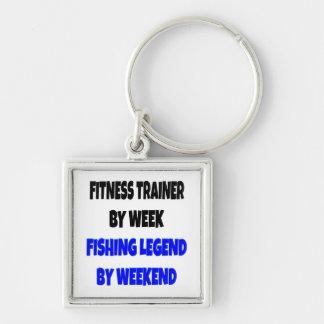 Fishing Legend Fitness Trainer Keychain