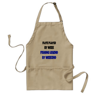 Fishing Legend Flute Player Aprons