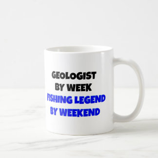 Fishing Legend Geologist Coffee Mug