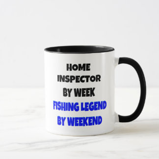 Fishing Legend Home Inspector Mug