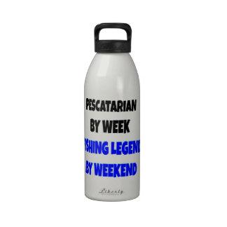 Fishing Legend Pescatarian Drinking Bottle