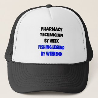 Fishing Legend Pharmacy Technician Trucker Hat