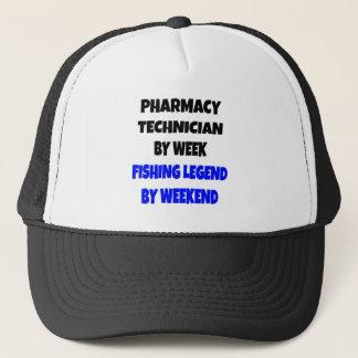 Fishing Legend Pharmacy Technician Trucker Hat