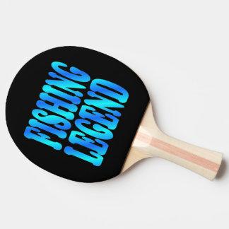 Fishing Legend Ping Pong Paddle