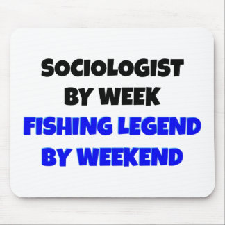 Fishing Legend Sociologist Mouse Pad