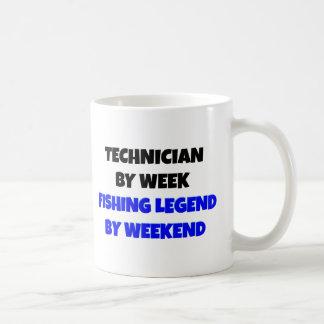 Fishing Legend Technician Coffee Mug