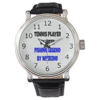 Fishing Legend Tennis Player Watch