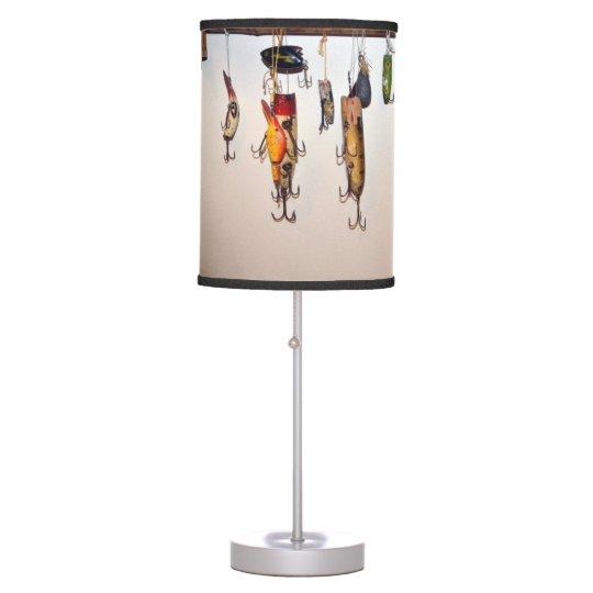 Fishing lure lamp