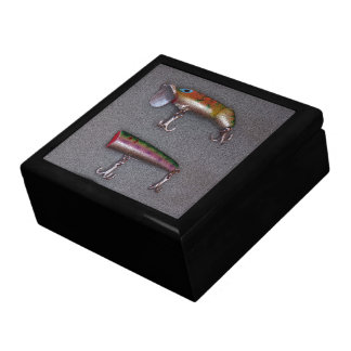 Fishing Lures Box Keepsake Boxes