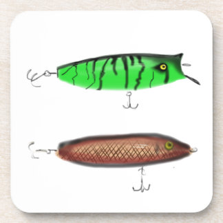 Fishing Lures Drink Coaster