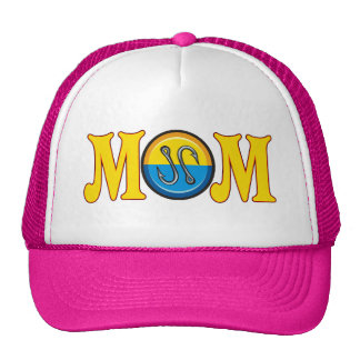 Fishing Mom Mothers Day Gifts Trucker Hat