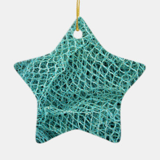 Fishing Net Ceramic Star Ornament