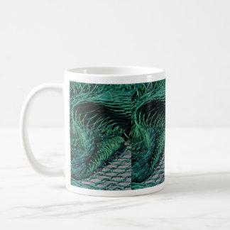Fishing net, Grand Manan Island, New Brunswick, Ca Coffee Mugs