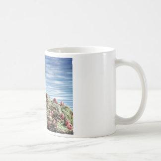Fishing net mugs