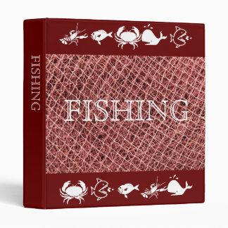 Fishing nets 3 ring binders
