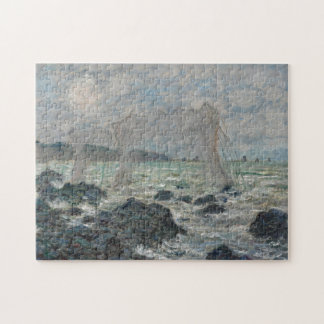 Fishing Nets at Pourville by Claude Monet Jigsaw Puzzle