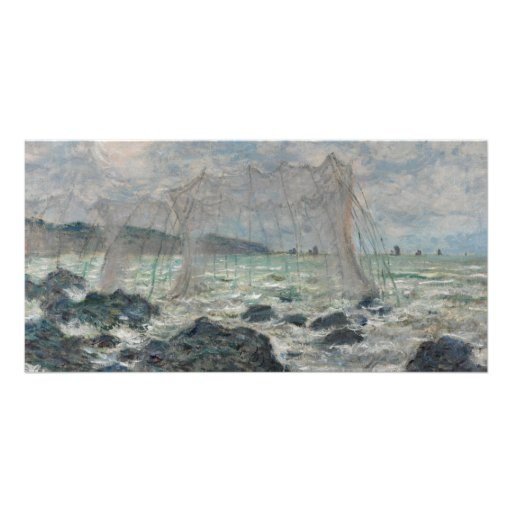 Fishing Nets at Pourville by Claude Monet Photo Cards