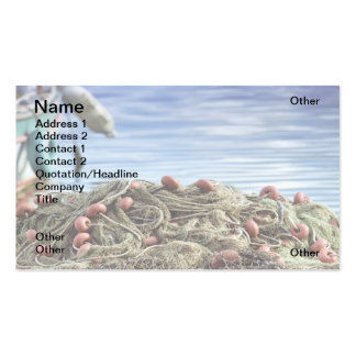 Fishing nets business cards