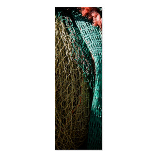 Fishing nets business card templates