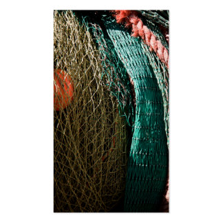 Fishing nets business card template