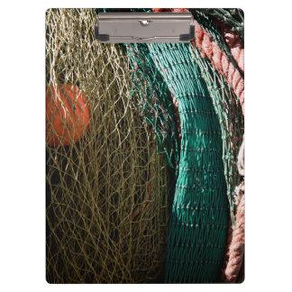 Fishing nets clipboard