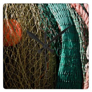 Fishing nets wallclocks
