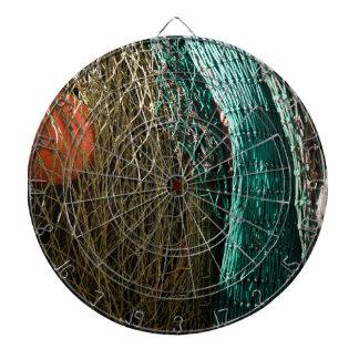 Fishing nets dart board