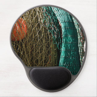 Fishing nets gel mouse pad