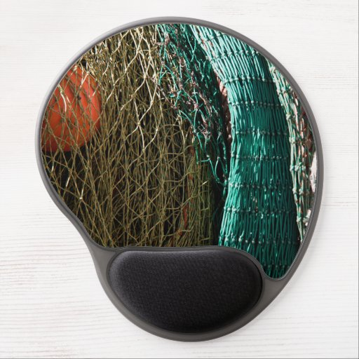 Fishing nets gel mouse pad