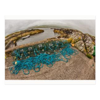 """Fishing nets"", Ireland postcard"