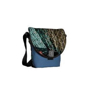 Fishing nets messenger bag
