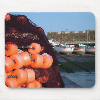 Fishing nets mouse pad