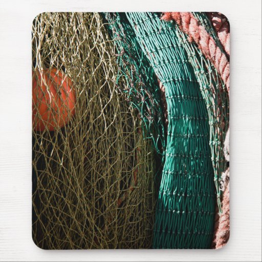 Fishing nets mouse pads
