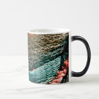 Fishing nets coffee mugs