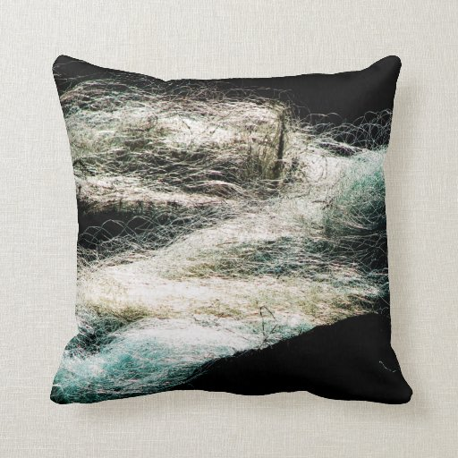 Fishing Nets Throw Pillows