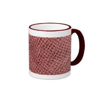 Fishing nets ringer coffee mug