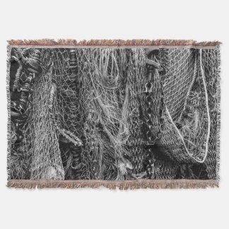 Fishing Nets Throw Blanket